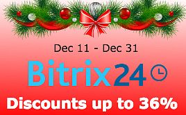 New Year 2017 Sale of Bitrix24