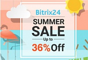 Big summer sale of Bitrix24 only until the end of August